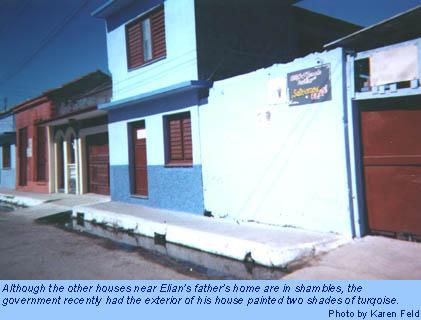The home of Juan Gonzalez, Elian's father.