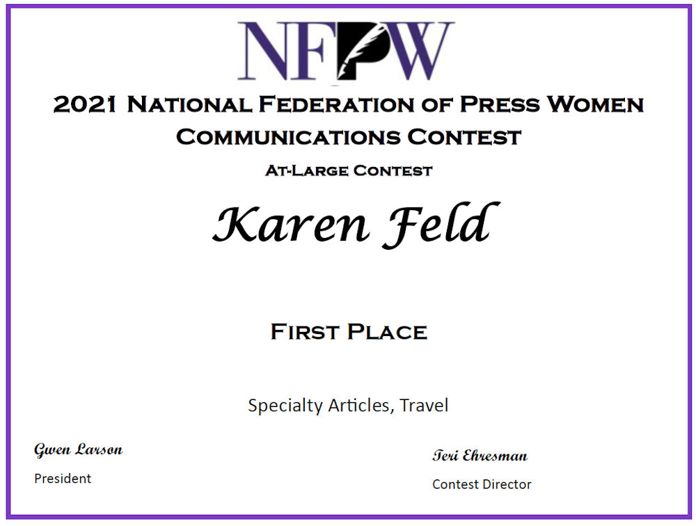 NFPW First Place Travel